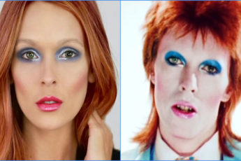 Easy David Bowie Makeup Tutorial For Halloween