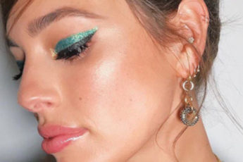 The-Eyeshadow-Color-Youve-Always-Feared-its-Trending-in-2019-green-eyeshadow-Ashley-Graham1