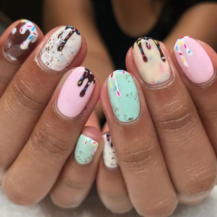 cute summer nail ideas fashionisers