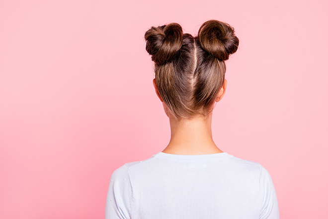 12-Best-Hairstyles-for-a-Student-Party-double-bun