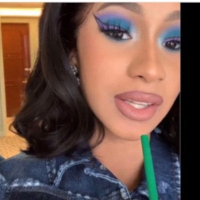 Celebrities Declare This The Hottest Summer Makeup Trend Cardi B