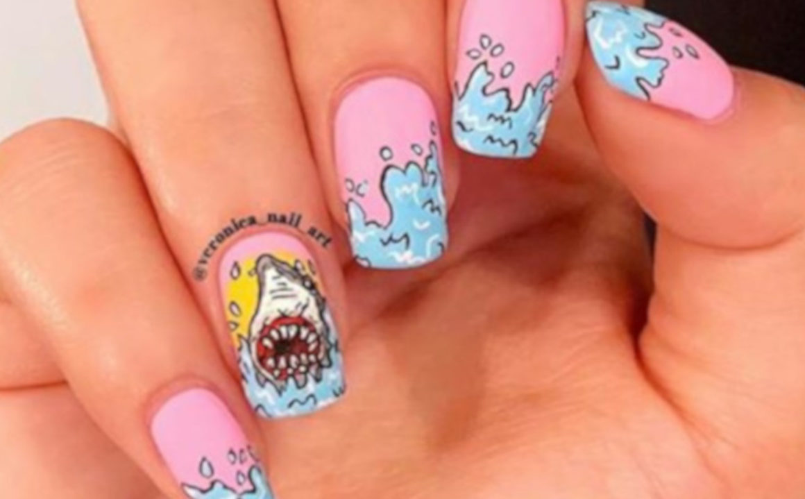 Shark Week Nail Art is A Trend We Never Saw Coming 1