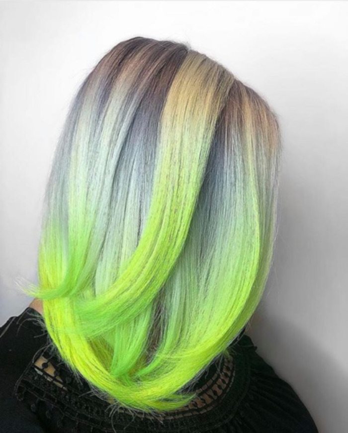 The Hottest Neon Hair Colors To Try