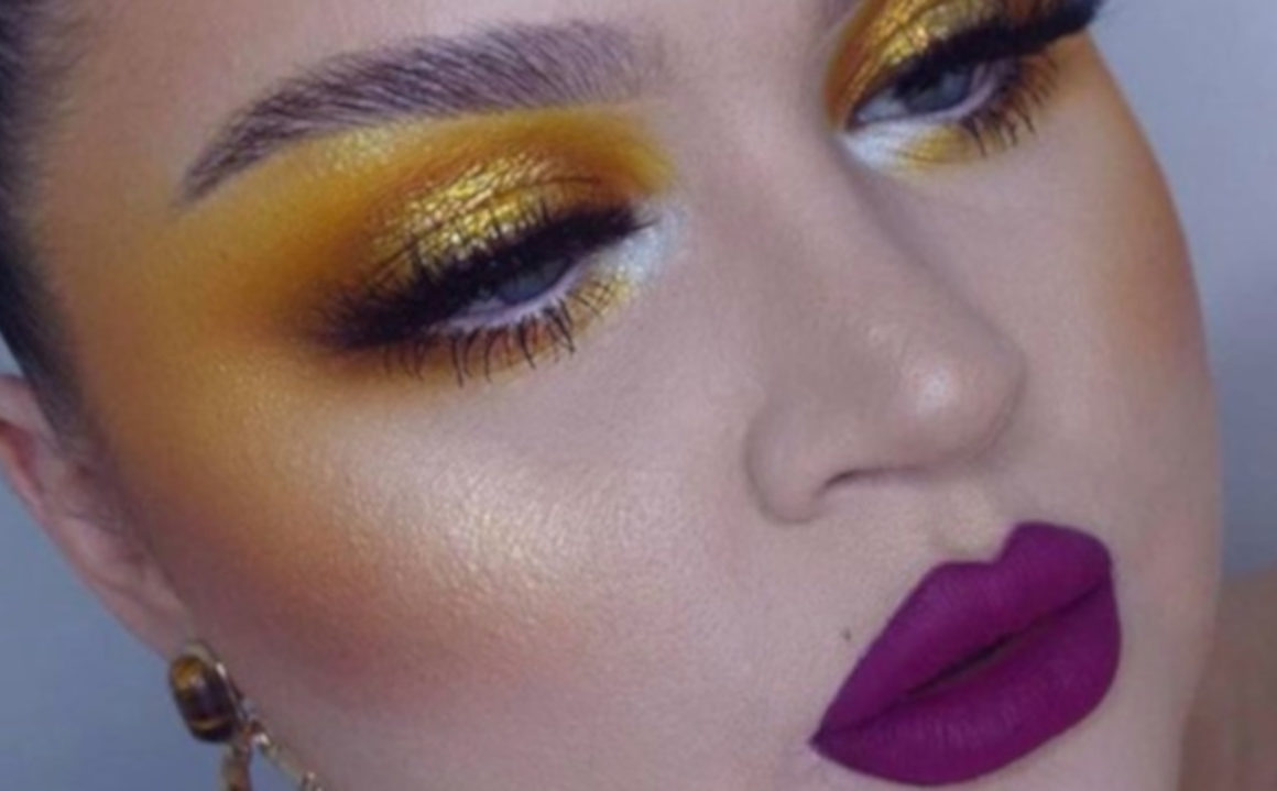 Yellow Makeup is Trending on Instagram 9