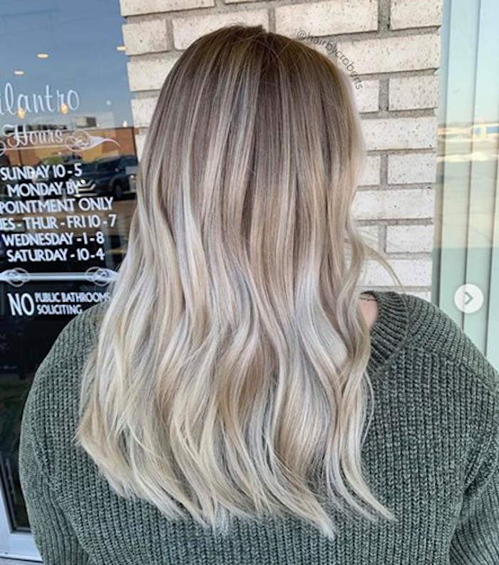 icy blonde hair color trend