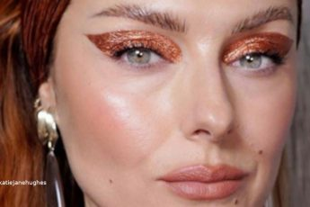 Rose Gold Makeup For Summer