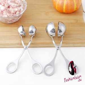 Steel Kitchen Ball Maker Stainless  Meatball Production Mold Convenient Fried Meatballs Making Spoon Kitchen Meat Tools