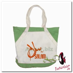 salaam Accent Tote Bag