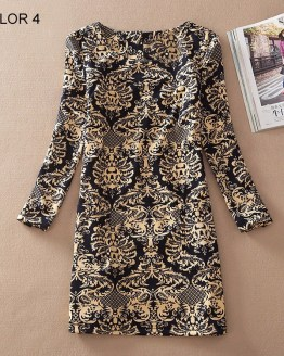 Ladies Long Sleeve Casual Autumn Color 4