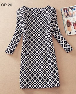 Ladies Long Sleeve Casual Autumn Color 20