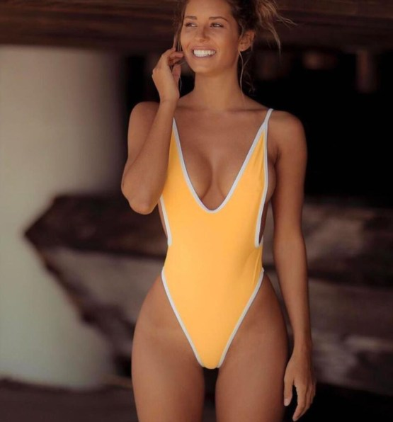 Bodysuit Beach Wear Monokini