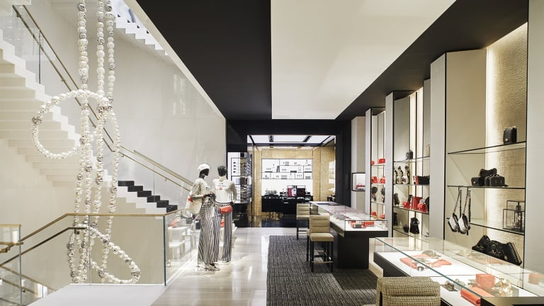 Chanel S Newest Flagship Features Exclusive Merchandise
