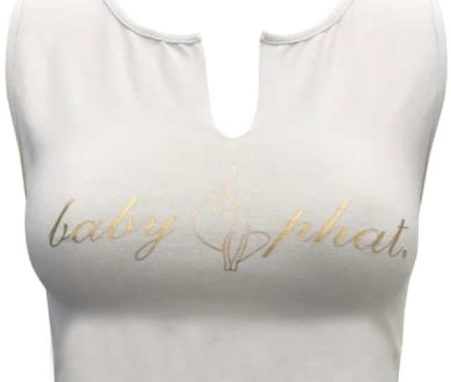 Baby Phat Forever 21 White V Neck Crop