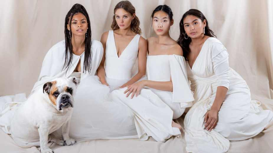 Houghton Designer Katharine Polk Launches a Size-Inclusive Cool Bride Wedding Dress Line