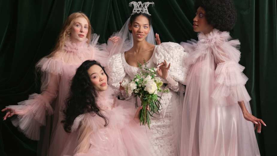The 12 Top Bridal Trends For Spring 2022 Include 'Bridgerton' Inspiration and Wedding Nap Dresses