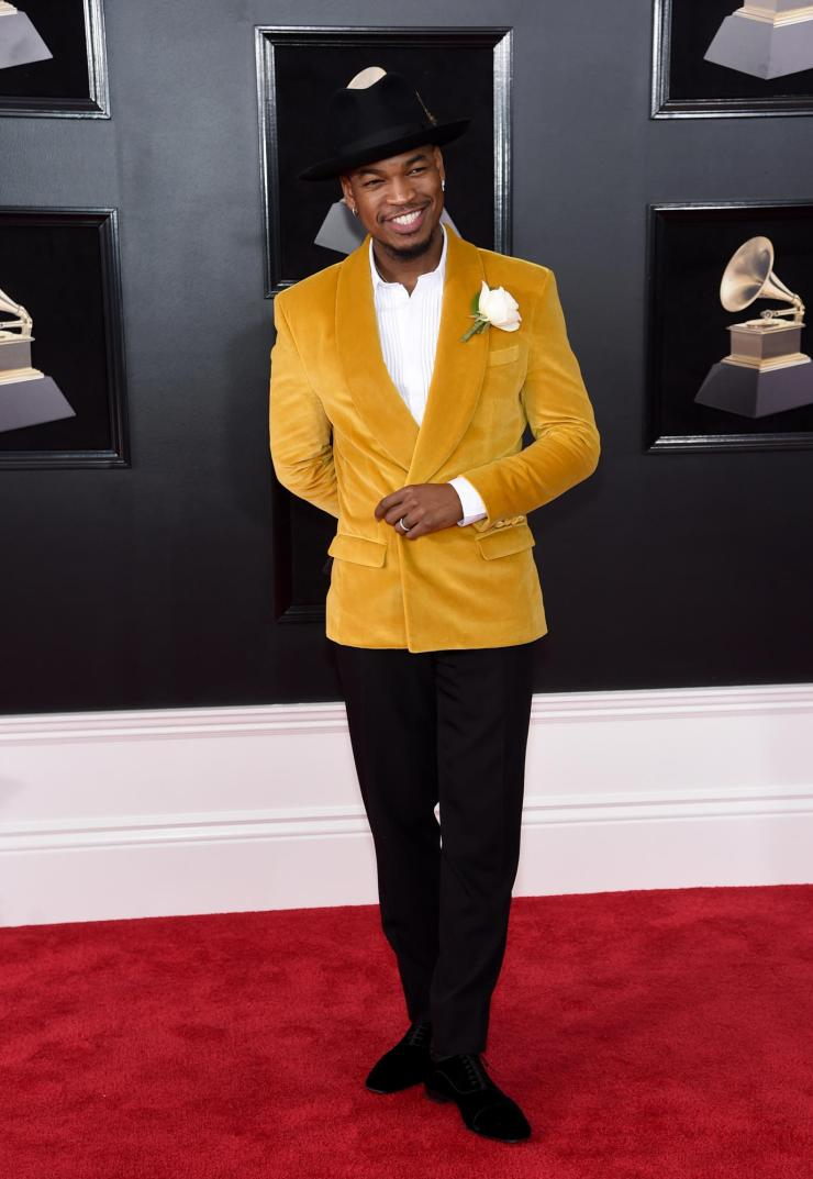 ne-yo-grammys See All the Red-Carpet Looks From The 2018 Grammy Awards