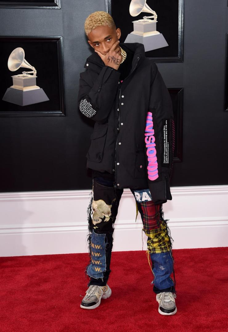 jaden smith - See All the Red-Carpet Looks From The 2018 Grammy Awards