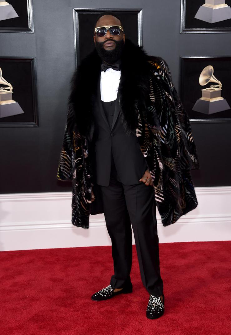 rick-ross-grammy See All the Red-Carpet Looks From The 2018 Grammy Awards