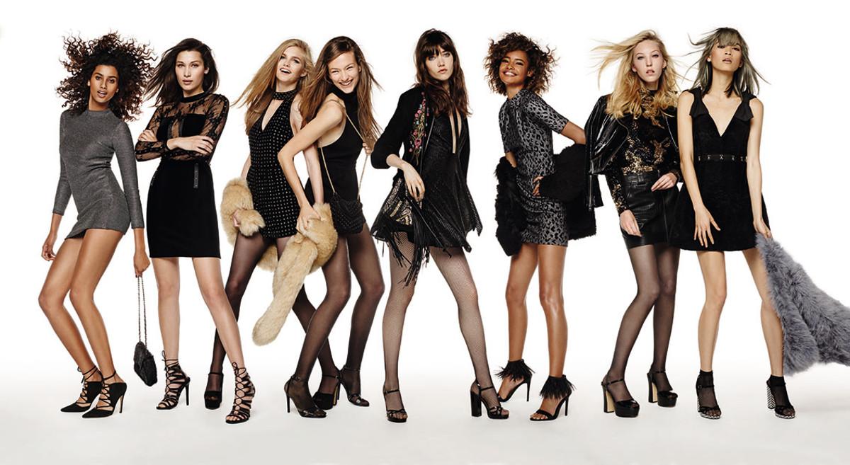 Topshop Assembles An Impressive Gang Of It Girls For