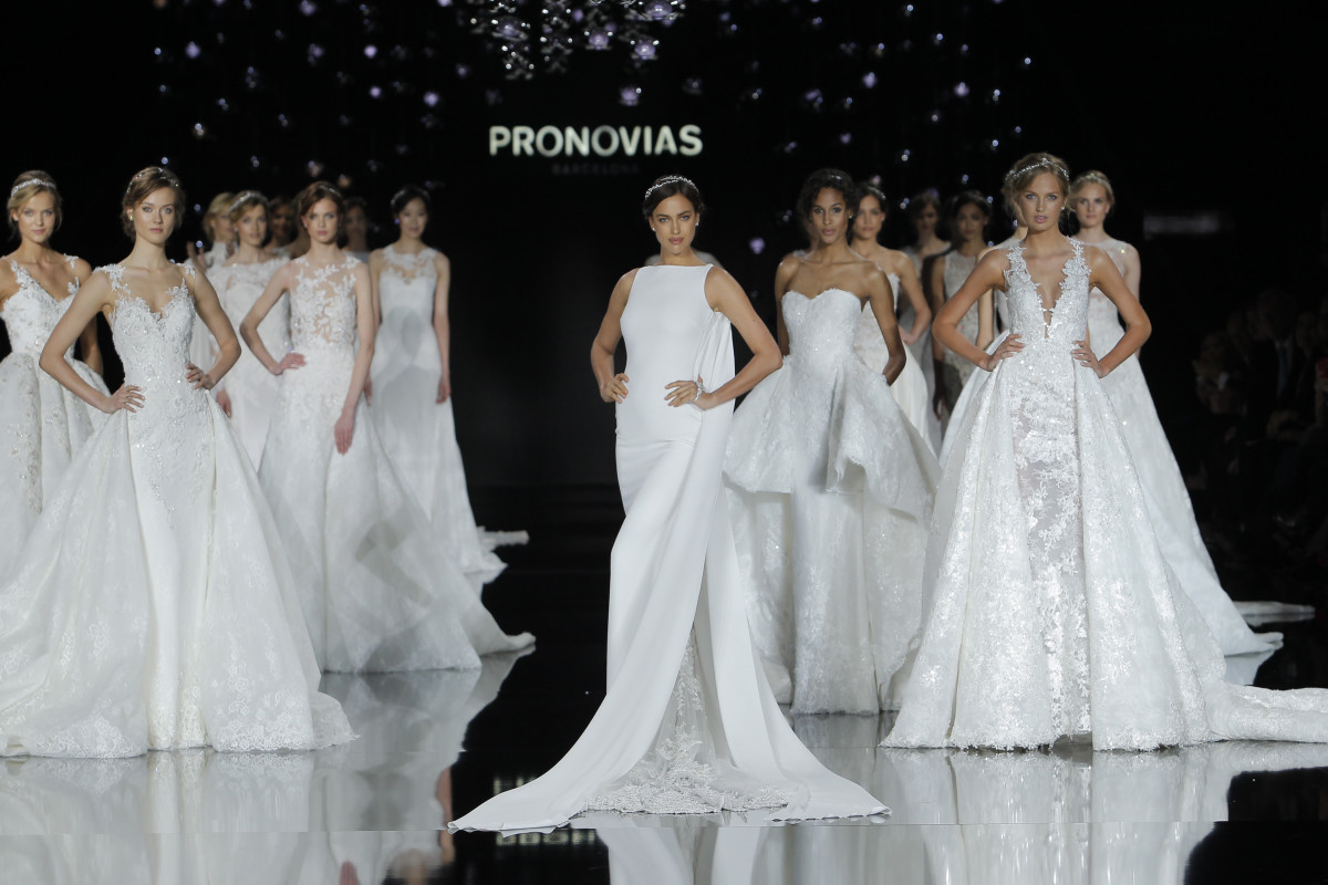 Inside Barcelona's Bridal Week: Victoria's Secret Angels