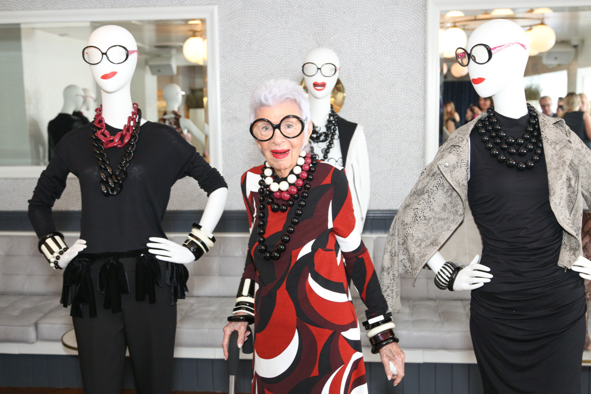Iris Apfel Thinks Dressing For Your Age Is Stupid