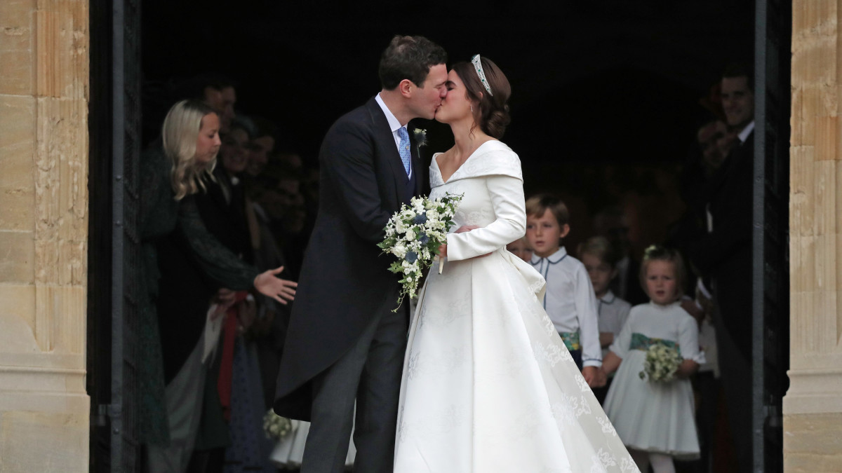 Princess Eugenie Royal Wedding Dress: Designer, Photos