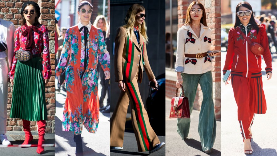 Street Style on Day 1 of Milan Fashion Week Was All Gucci Everything     All Gucci everything  Photos  Chiara Marina Grioni  2   Moeez Ali