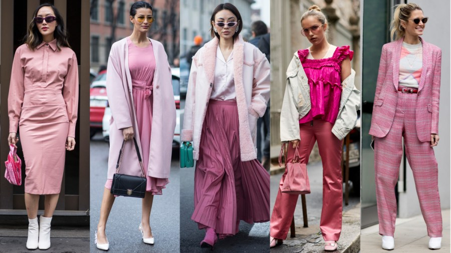 The Color Pink Is Still Trending  According to Street Style at Milan     Pink  Photos  Chiara Marina Grioni Fashionista  3   Imaxtree  2