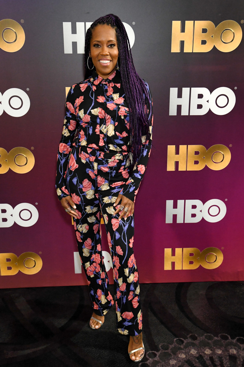 Regina King in Prada at the 2019 HBO Summer TCA Panels in Beverly Hills. Photo: Jeff Kravitz/FilmMagic