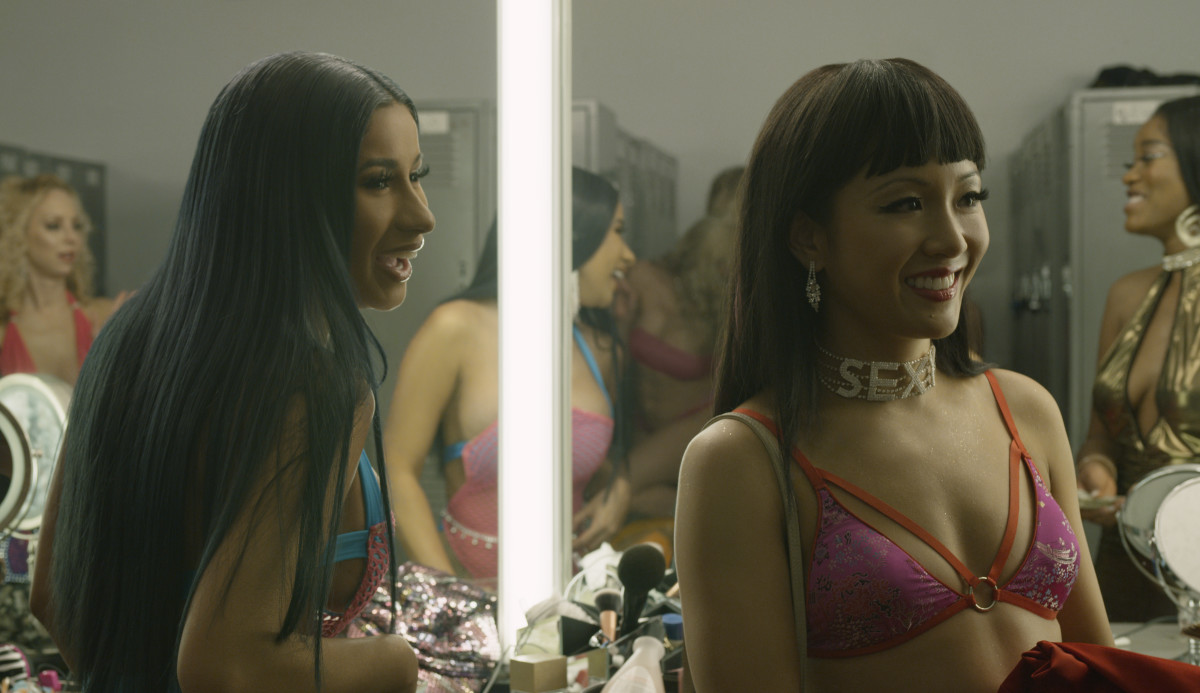 Diamond (Cardi B) and Destiny. Photo: Courtesy of STXfilms
