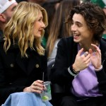 For Timothee Chalamet Courtside Fashion Means Lots Of Statement Jewelry Fashionista