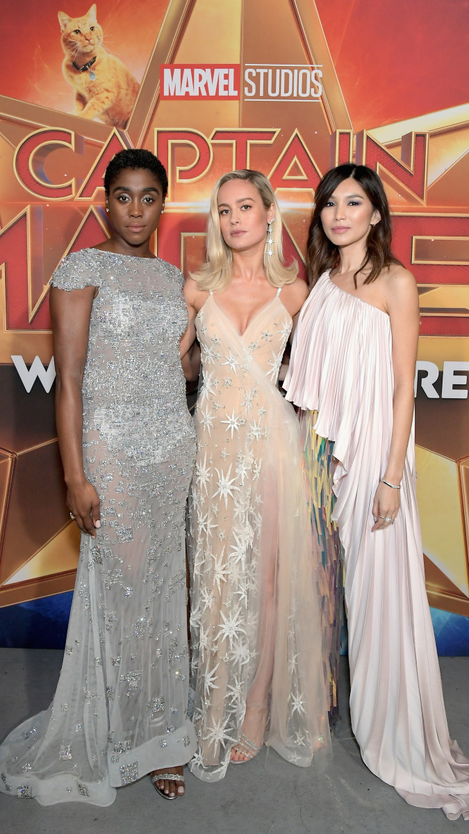 the fantastic 'captain marvel' press tour brought us heroically fun