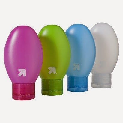 target travel size squeeze bottles