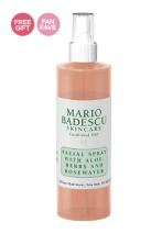 mario badescu facial spray aloe herb rosewater