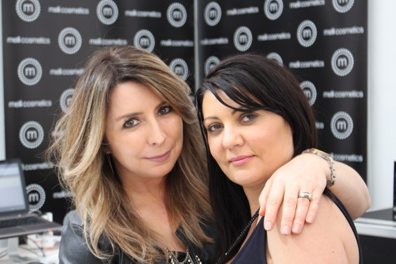 Melissa and Carmie from Melli Cosmetics