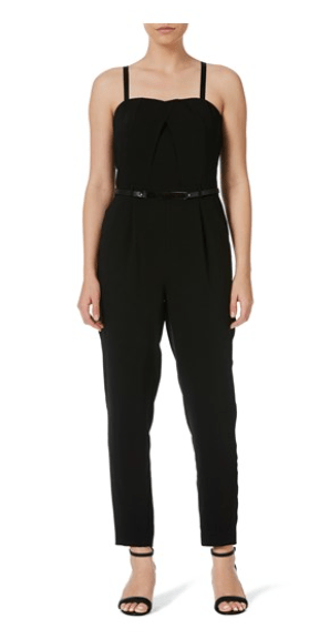 Table Eight - Tasha Belted Long Leg Jumpsuit