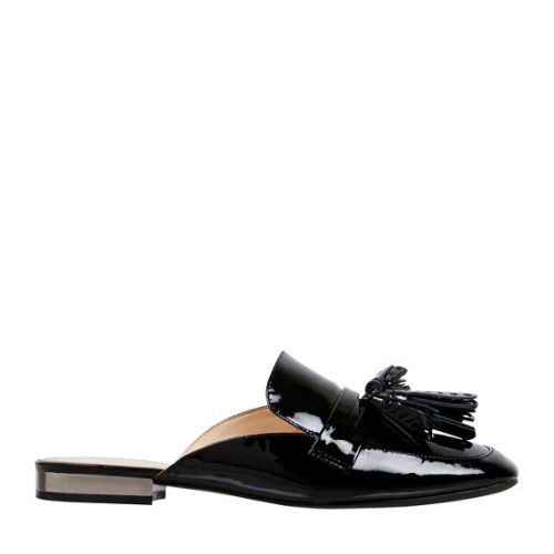 Nine West Xenisa Black Patent slip on