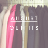 august Outfits