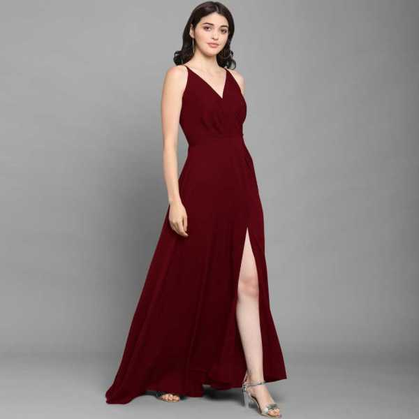 Women Fit and Flare Party Dress