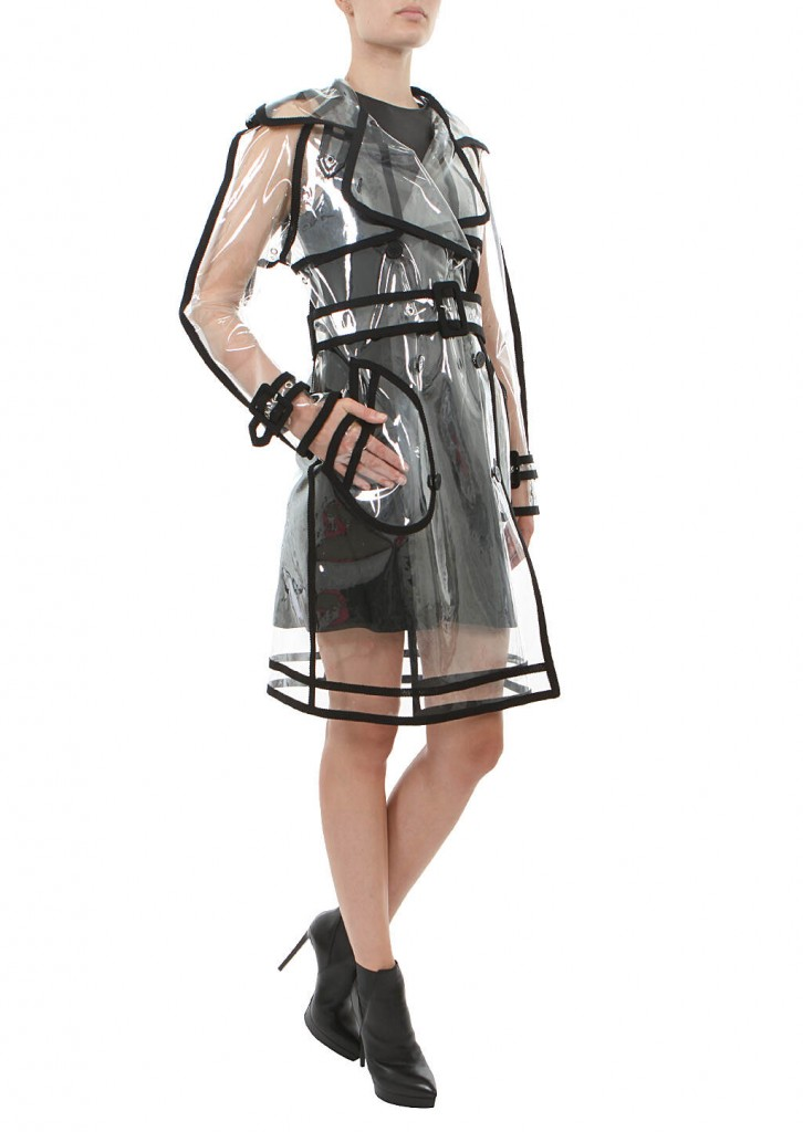 Wanda Nylon Transparent Trench