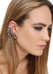 DIGS BIJOUX Crystal Ear Cuff