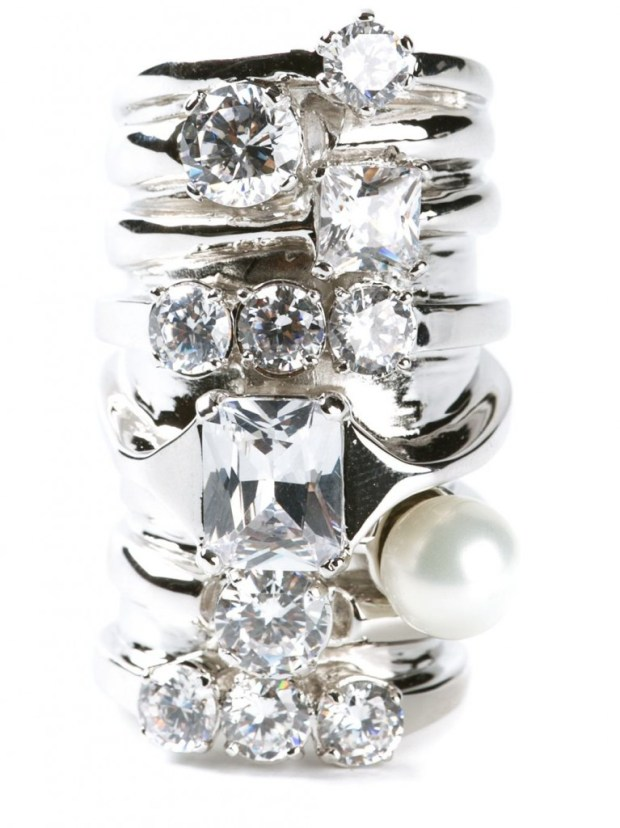 Try This! Maison Martin Margiela Faux-Stacked Ring