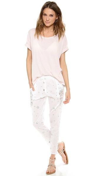 Pick Of The Day: Juliet Dunn Drawstring Beach Pants