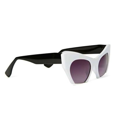 Pick Of The Day: Two Tone Cut-Off Cat-Eye Sunglasses