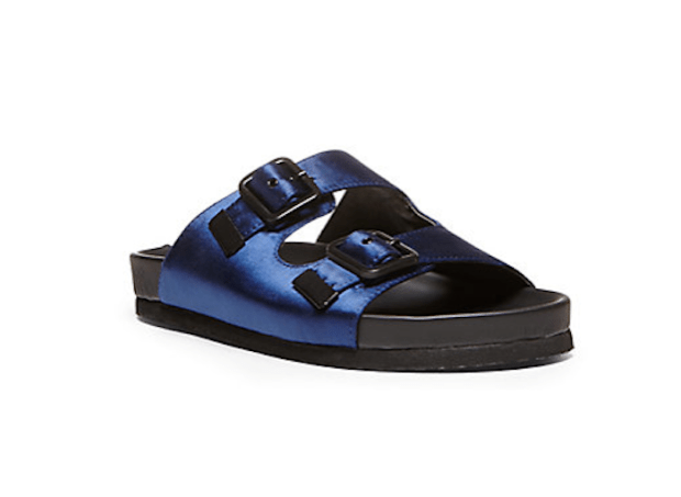 Pick Of The Day: Bountee Satin Slip On Sandals