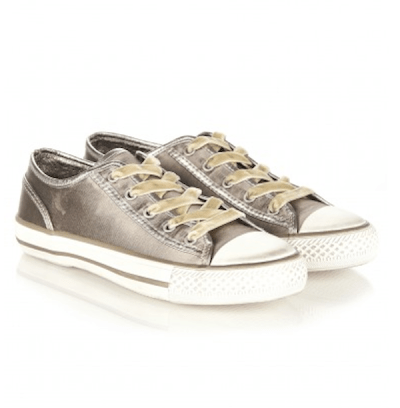 Pick Of The Day: Ash Viper Satin Taupe Trainer