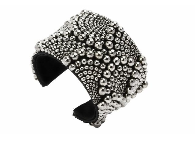 Forest of Chintz Silver Cuff