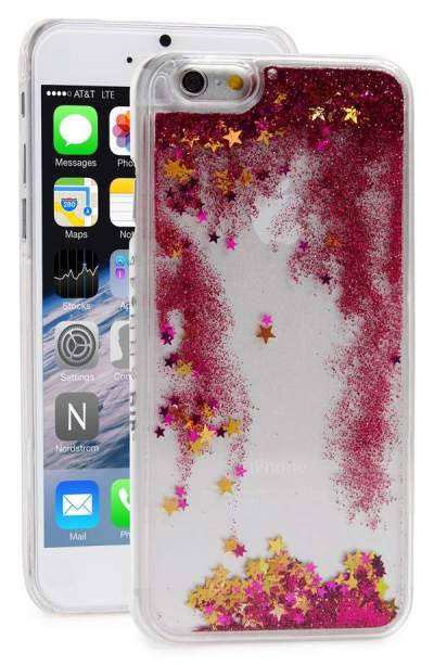 Currently Coveting: Skinnydip Glitter Liquid iPhone 6 Case