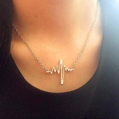 Hot Pick: Heart Beat Necklace By Florence Scovel