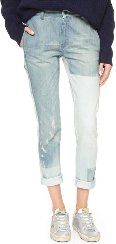 Trend To Try: Patchwork Jeans